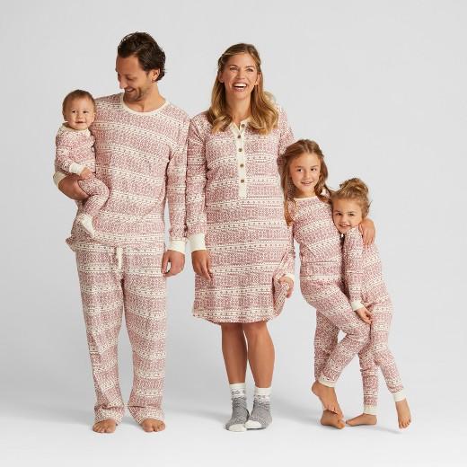 Burt's Bees Baby® Infant Organic Cotton Fair Isle Pajama Set : Target