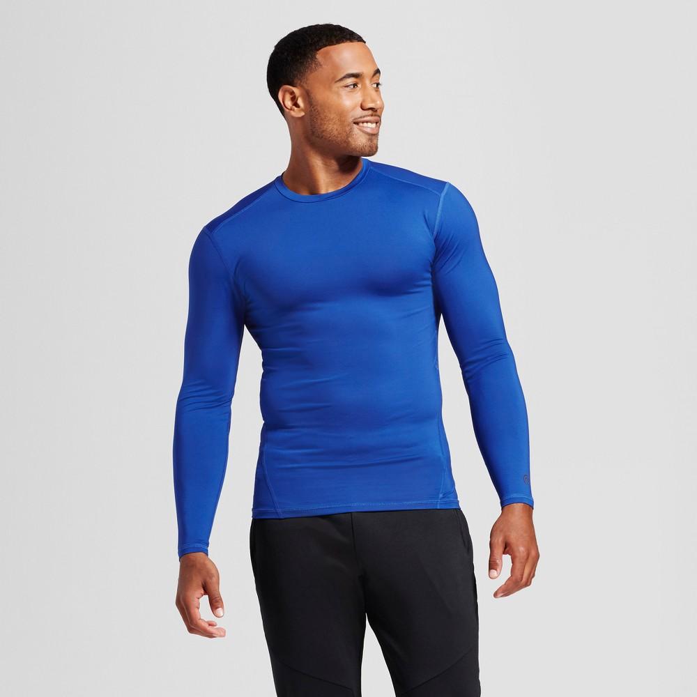 Men's Power Core Compression Long Sleeve Shirt - C9 Champion Blue S, Bright Blue