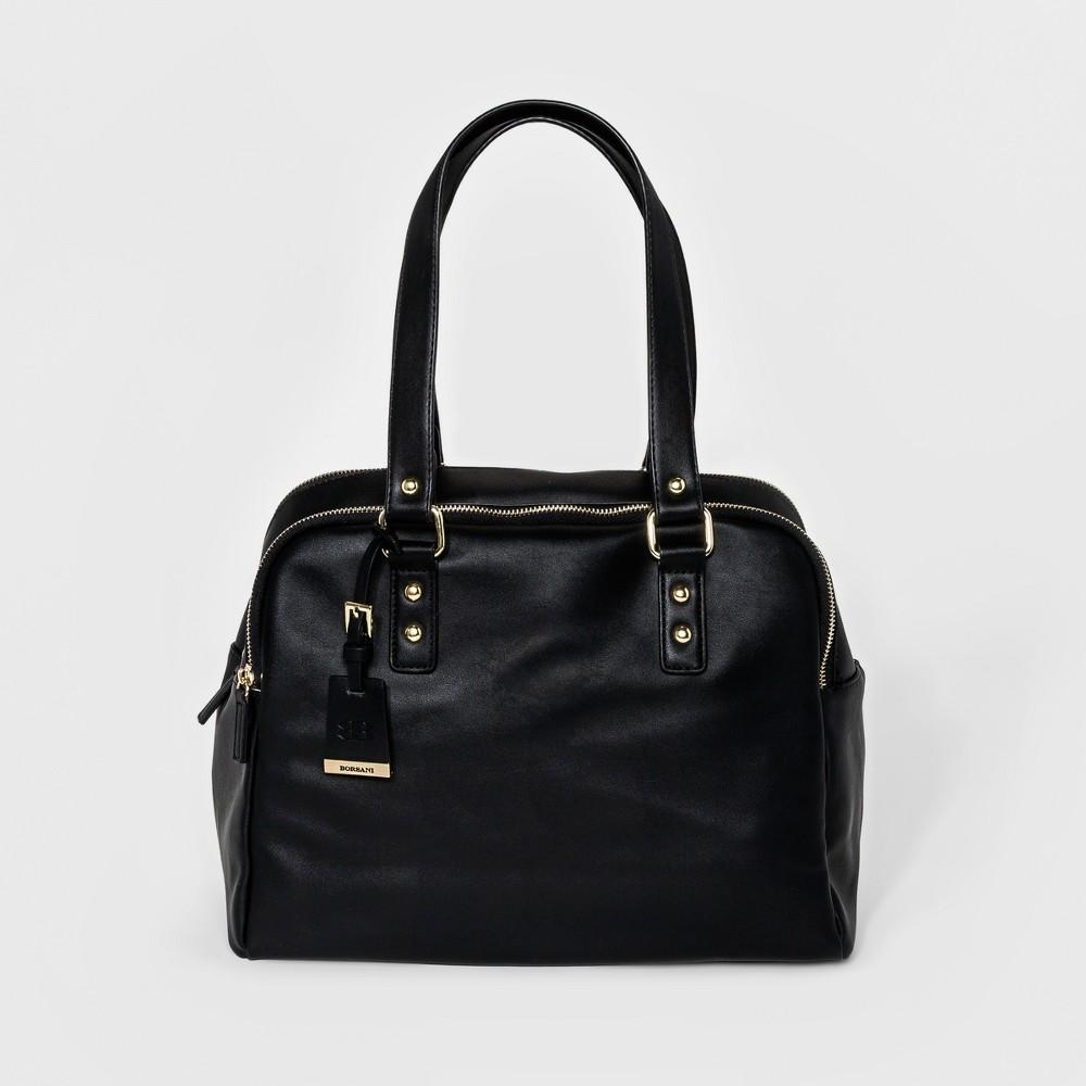 Borsani Womens Elena Tote Handbag - Black