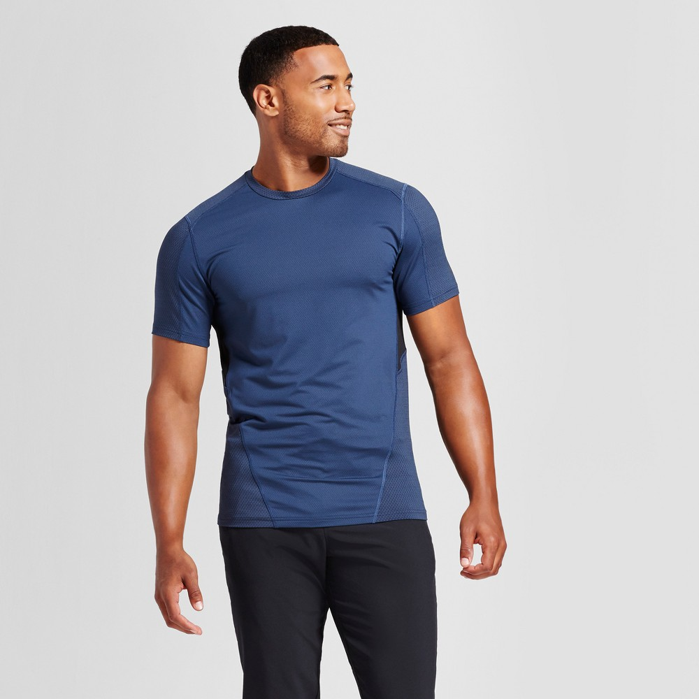 Mens Speed Knit T-Shirt - C9 Champion Cruising Blue XL