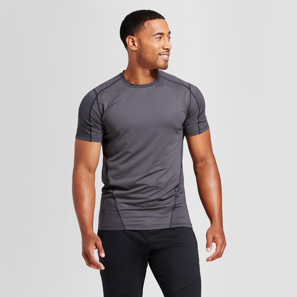 Mens Speed Knit T-Shirt - C9 Champion Railroad Gray L