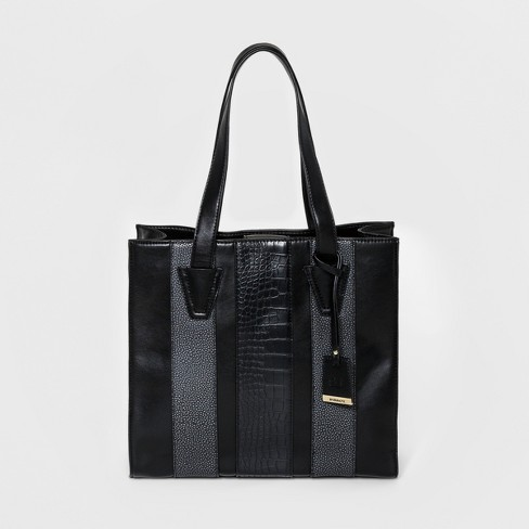 Borsani Women's Claire Tote Handbag - Black - image 1 of 3