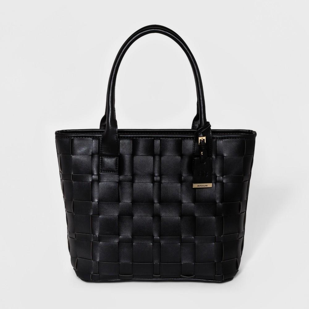 Borsani Women's Adela Woven Tote Handbag - Black