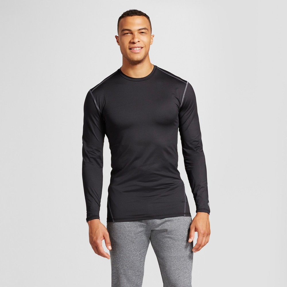 Mens Powercore Long Sleeve T-Shirt - C9 Champion Black LT