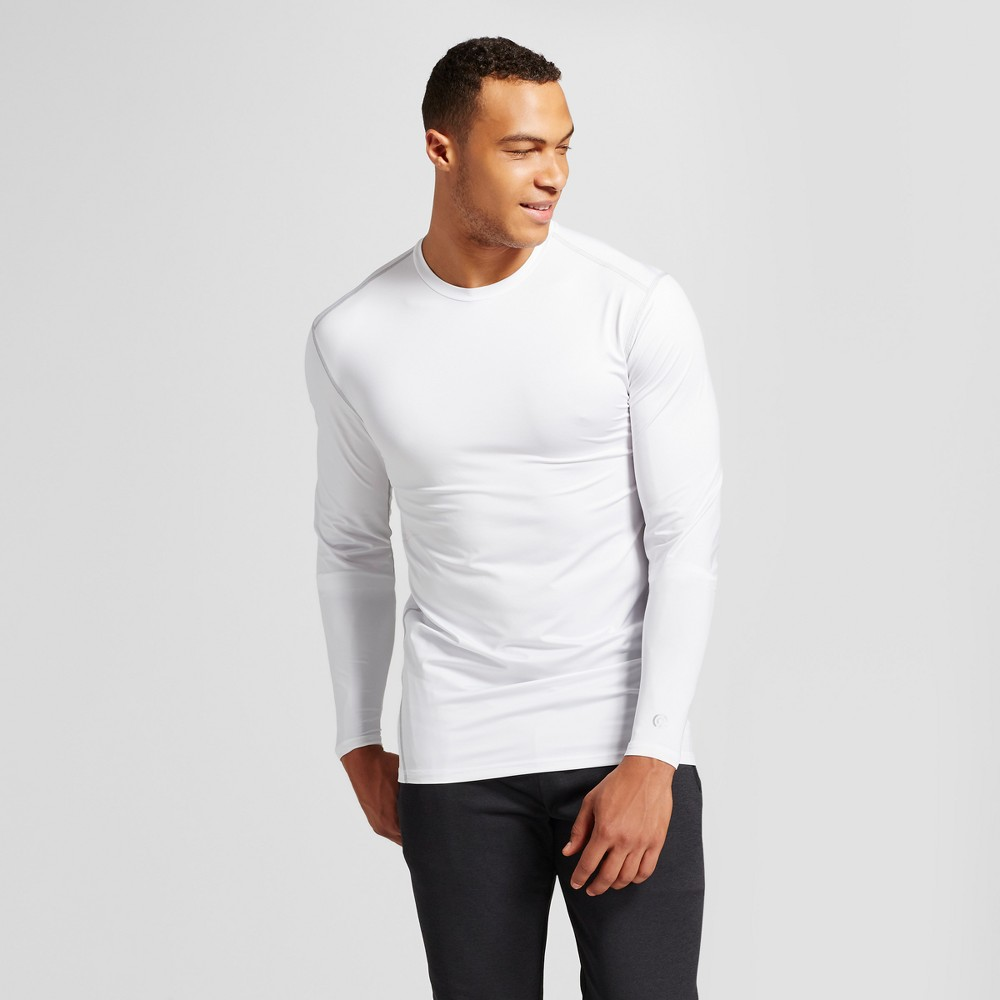 Mens Powercore Long Sleeve T-Shirt - C9 Champion White MT