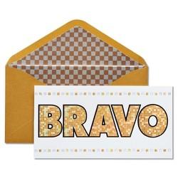 Papyrus Bravo Graduation Card with Foil