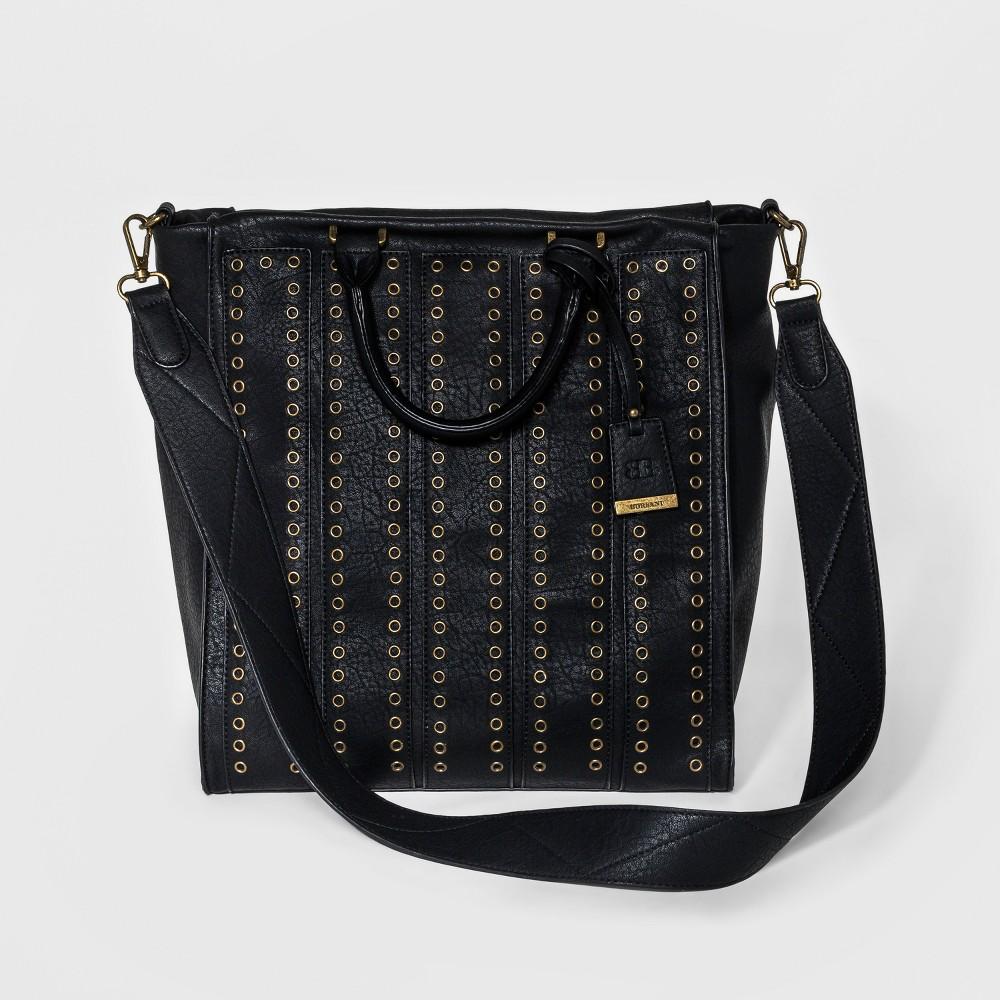 Borsani Womens Rylee Tote Handbag - Black
