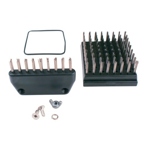 Replacement Brush Set For Original - Black - Grill Daddy - image 1 of 2