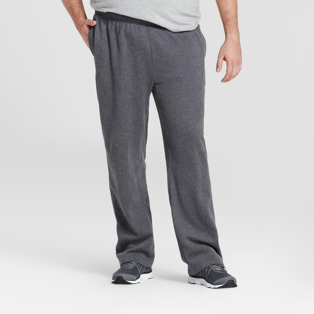 Mens Fleece Pants - C9 Champion - Charcoal Gray Heather Xxl x 34