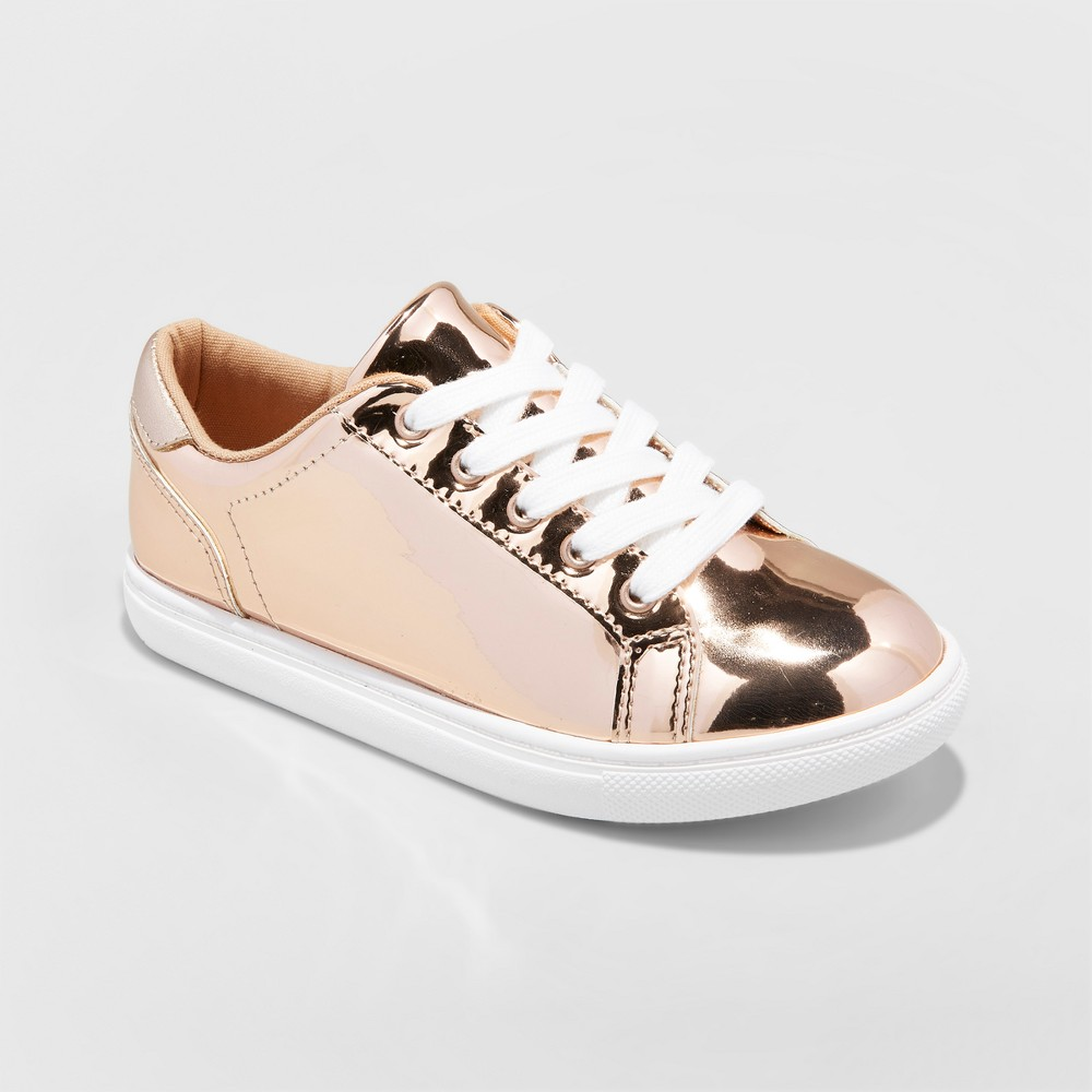 Girls Frances Sneakers - Cat & Jack Gold 4