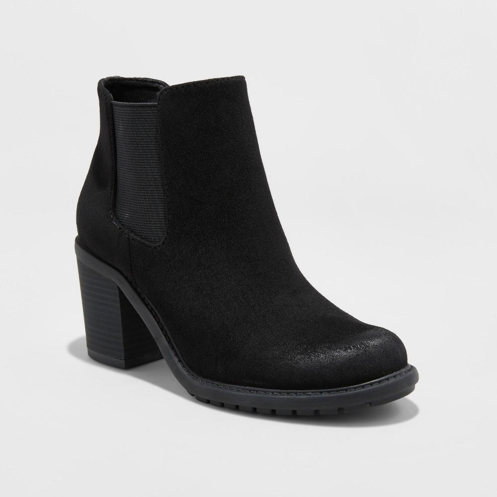 Womens Adalia Winter Boots - Merona Black 5.5