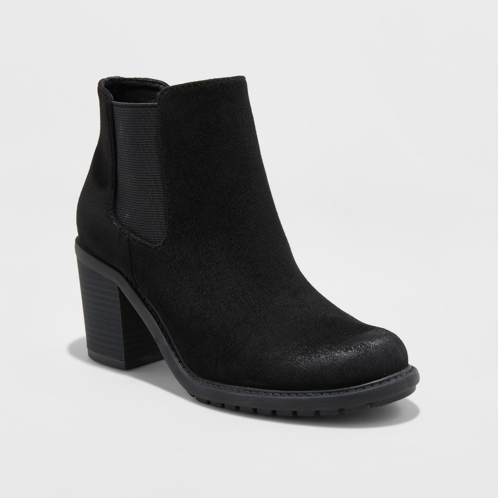 Womens Adalia Winter Boots - Merona Black 6.5