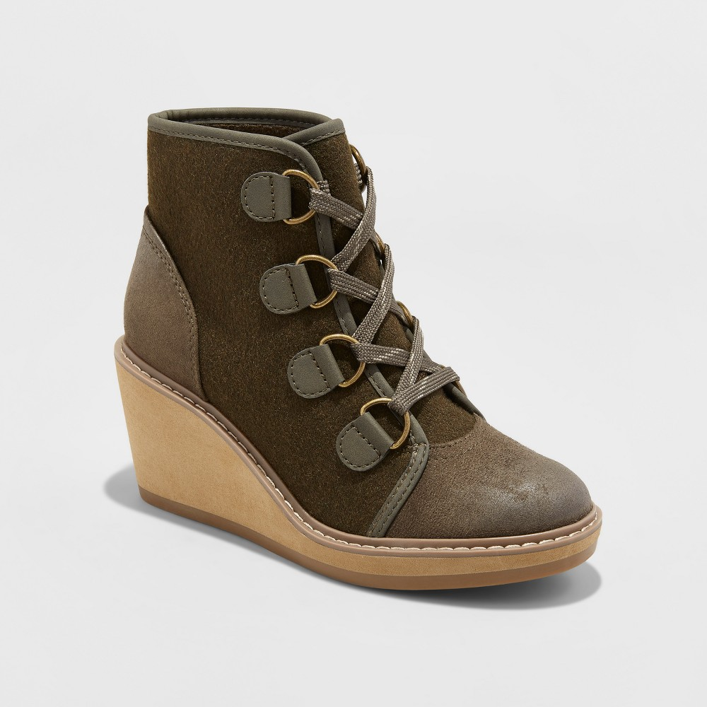 Womens Lorelle Fashion Boots - Mossimo Supply Co. Green 6.5