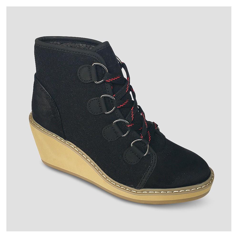 Womens Lorelle Fashion Boots - Mossimo Supply Co. Black 5.5