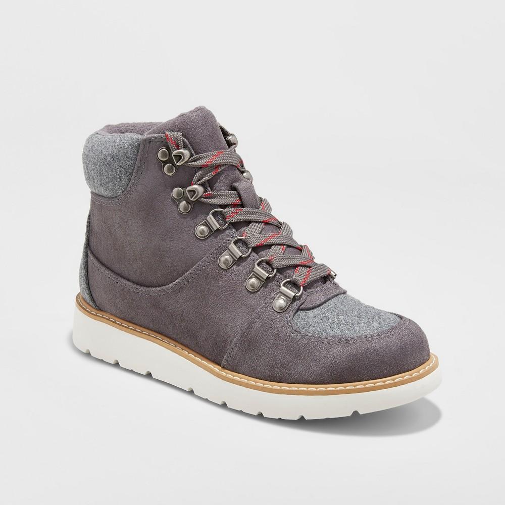 Womens Nona Jogger Hiking Boots - Merona, Size: 6, Gray