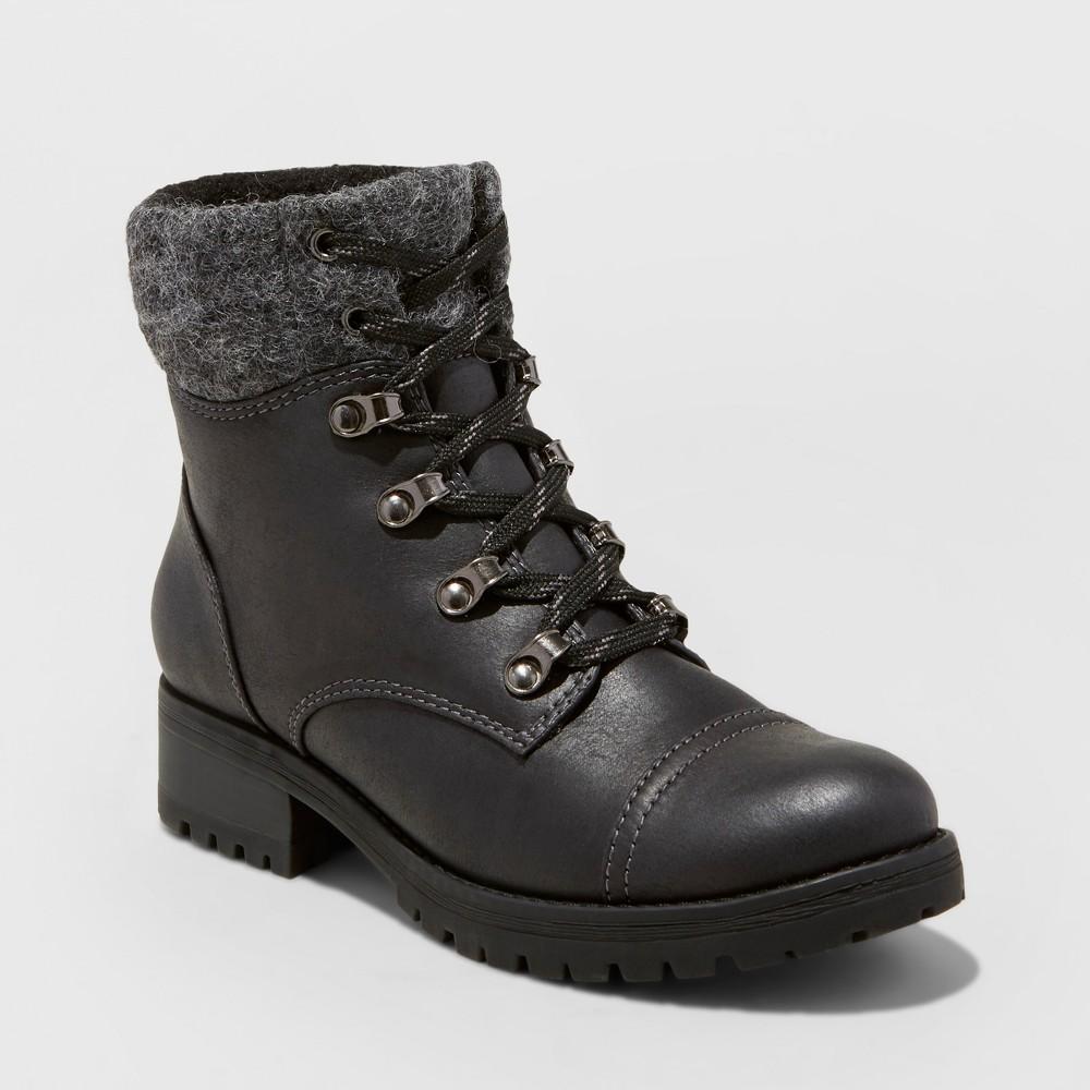 Womens Danica Hiking Boots - Mossimo Supply Co. Black 8.5