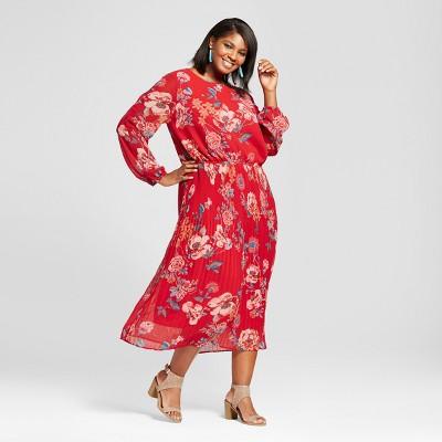 Target plus size dress description