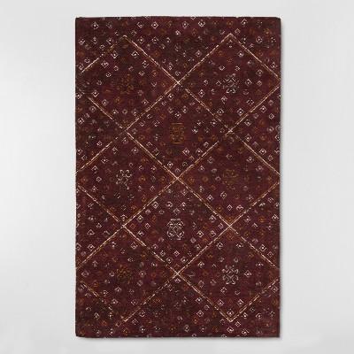 Kilim Floor Mat 2'x3' - Red - Threshold™