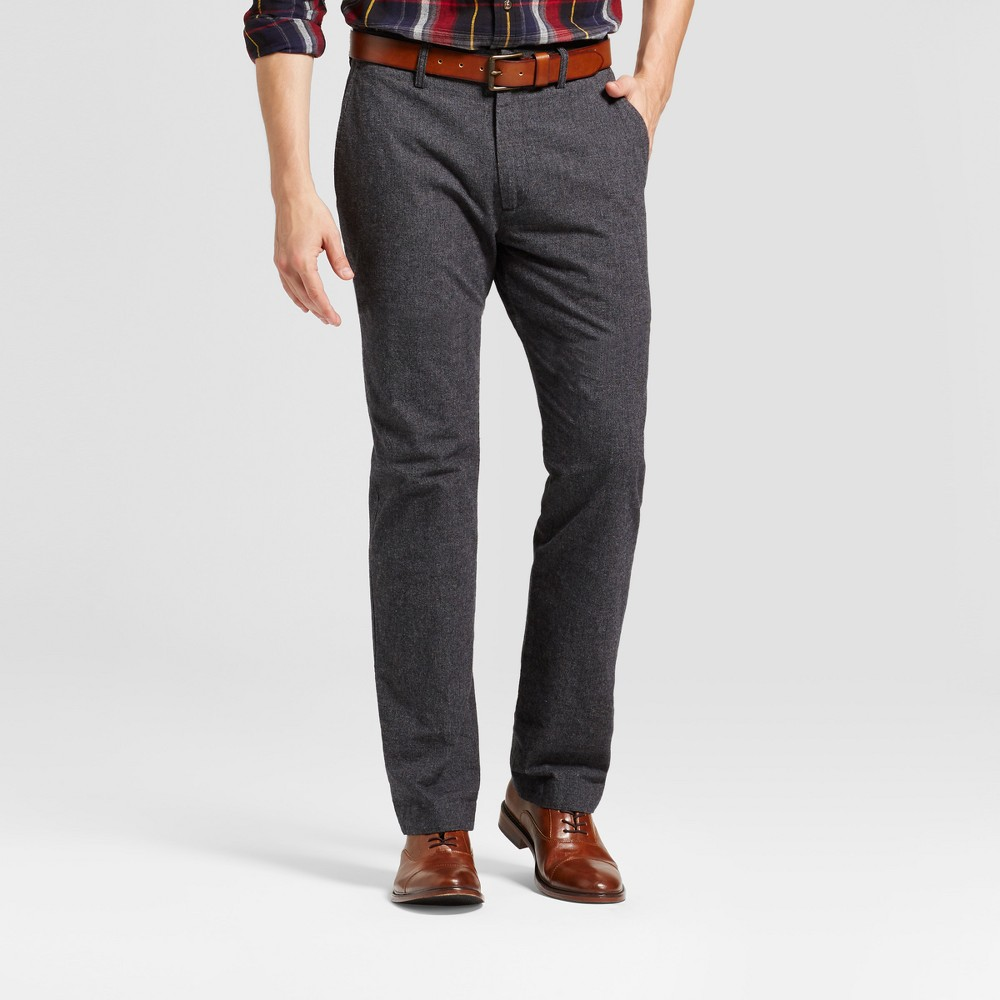 Mens Straight Fit Trouser Pants - Goodfellow & Co Slate Blue 32X30