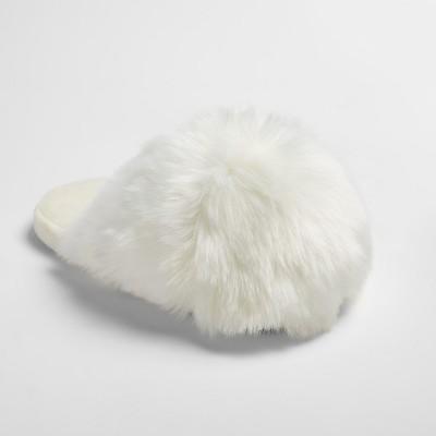 Women's Noley Unicorn Puff Slippers - Xhilaration™ Ivory XL(11)