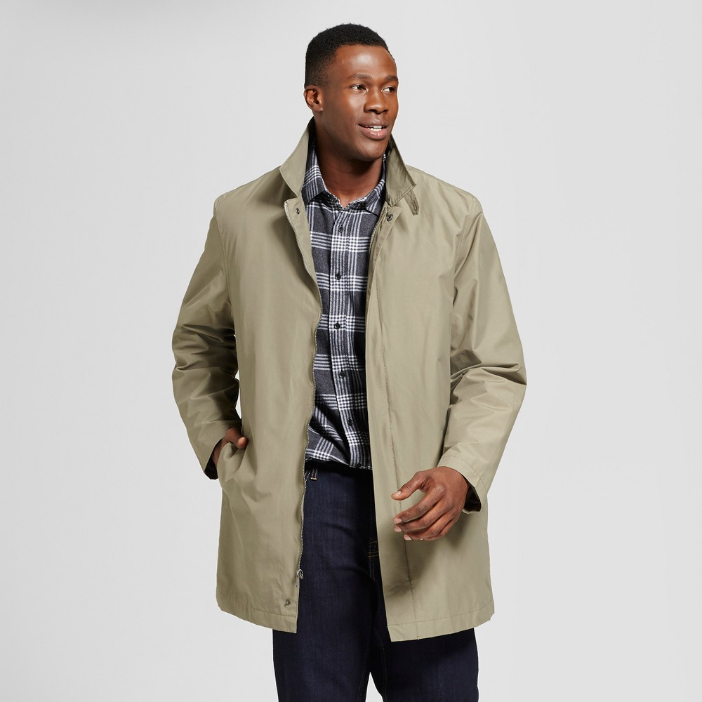 Mens Big & Tall ME Insulated Mac Outerwear Coat - Goodfellow & Co Stone MT, White