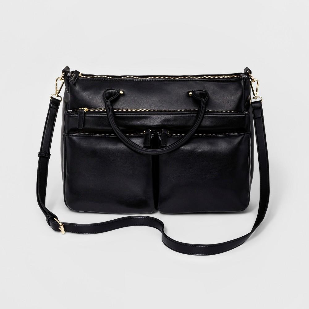 Borsani Womens Satchel Handbag - Black