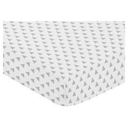 Sweet Jojo Designs Fitted Crib Sheet Navy Amp Mint Woodsy