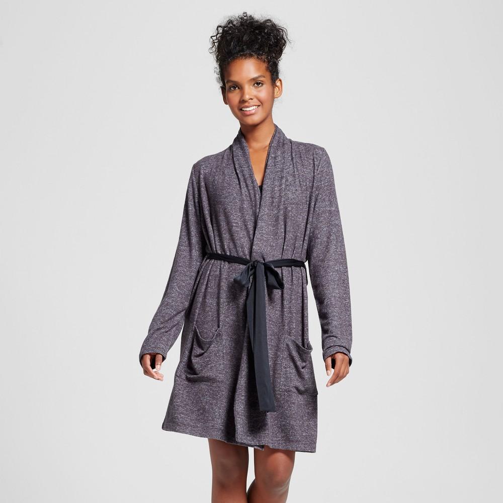 Womens Robes Xhilaration Black XS