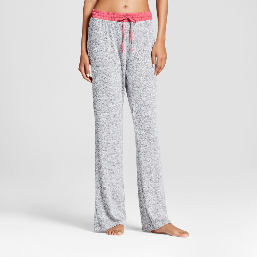 Womens Pajama Pants Xhilaration L Athletic Heather, Gray