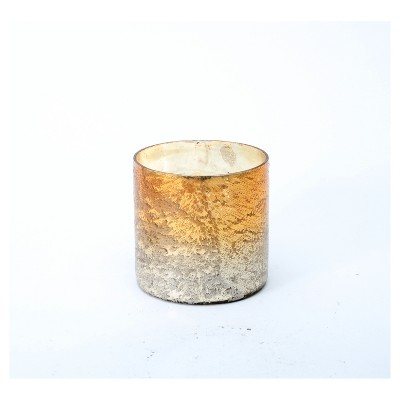 Gold Ombre Container Candle Small
