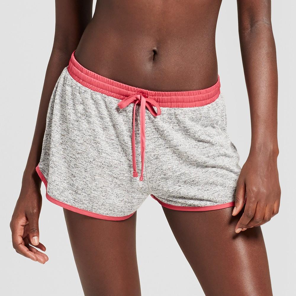 Womens Pajama Shorts Xhilaration XL Light Gray Heather