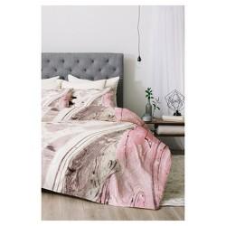 Pink & Gray Marta Barragan Camarasa Comforter Set - Deny Designs®