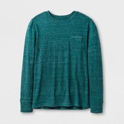 Boys' Long Sleeve T-Shirt - Cat & Jack™ Heathered Green