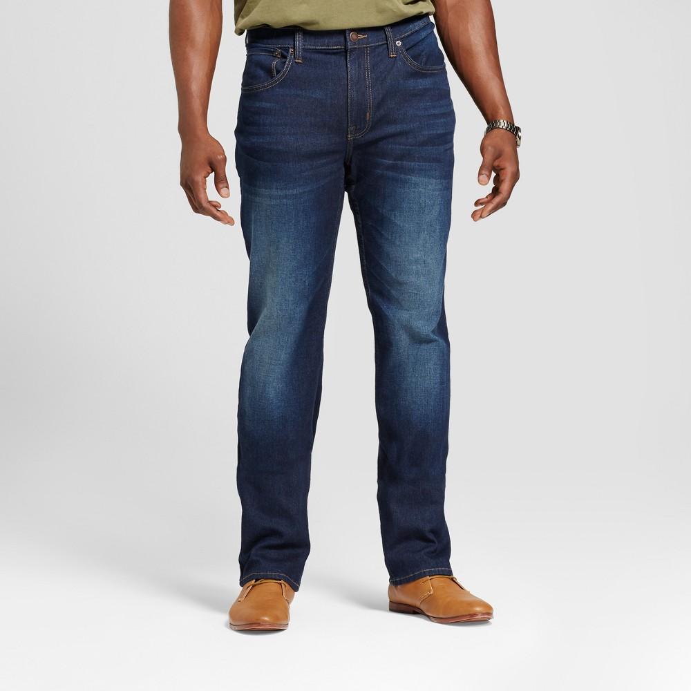 Mens Big & Tall Skinny Fit Jeans - Goodfellow & Co Blue 30x36