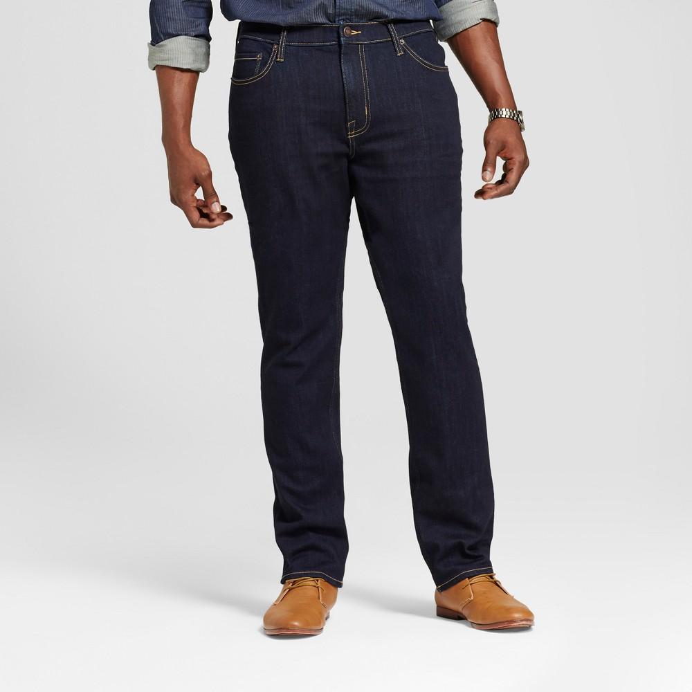 Mens Big & Tall Skinny Fit Jeans - Goodfellow & Co Navy 36x36, Blue