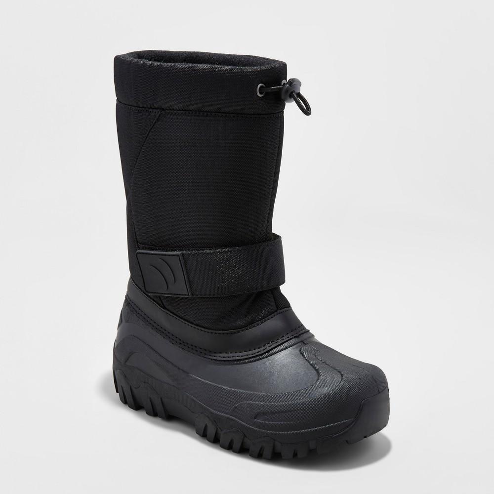 Boys Jalen Winter Boots - Cat & Jack Black 13
