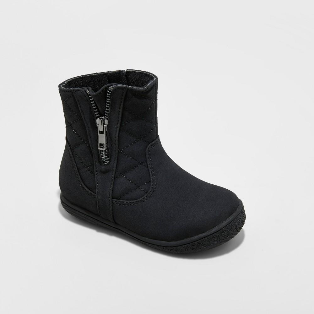 Toddler Girls Rachel Shoes Fashion Boots Malaga - Black 5