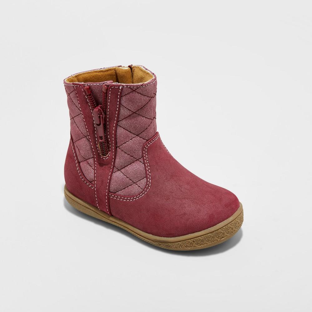 Toddler Girls Rachel Shoes Fashion Boots Malaga - Pink 10