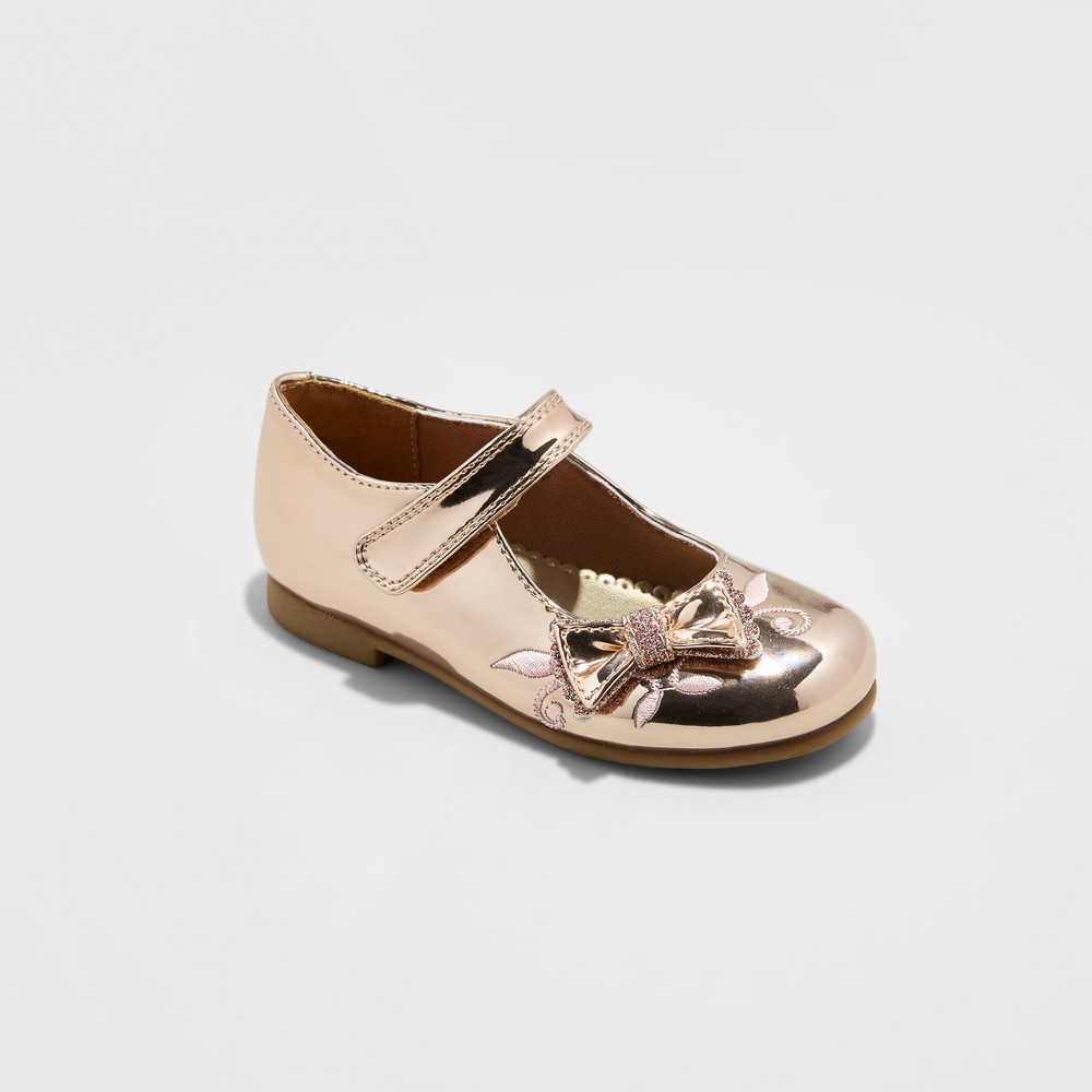 Toddler Girls Rachel Shoes Mary Jane Shoes Lil Fahhah - Rose Gold 8