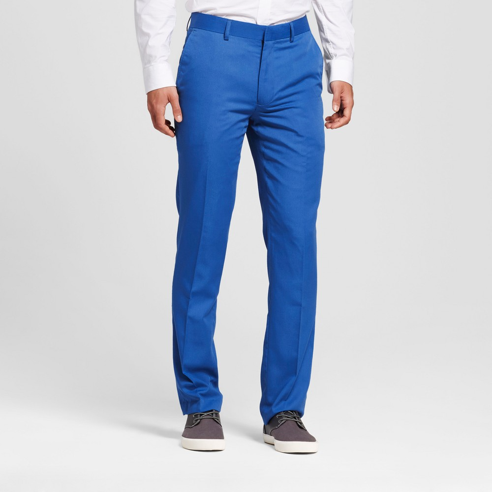 Wd·ny Black - Mens Bright Cobalt Blue Pants - Blue 34x32