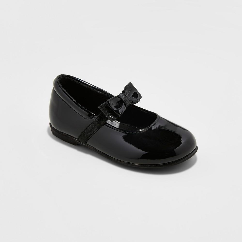 Toddler Girls Rachel Shoes Mary Jane Shoes Emily - Black 7