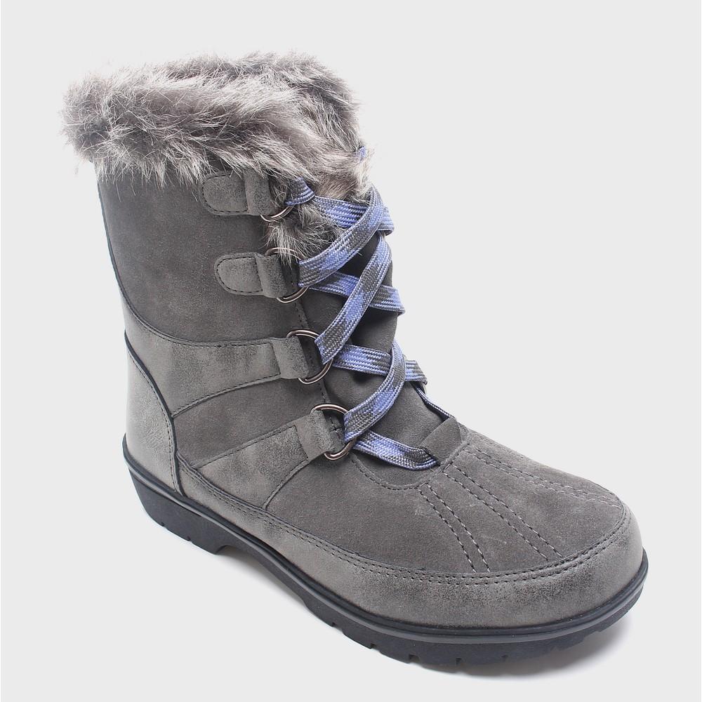Womens Floria Short Functional Winter Boots Merona, Size: 7, Gray