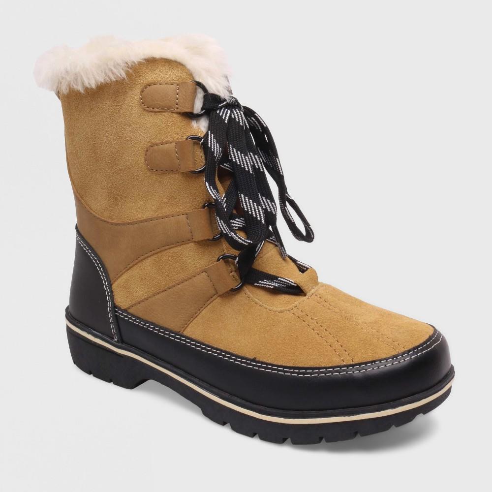 Womens Floria Short Functional Winter Boots Merona, Size: 6, Tan
