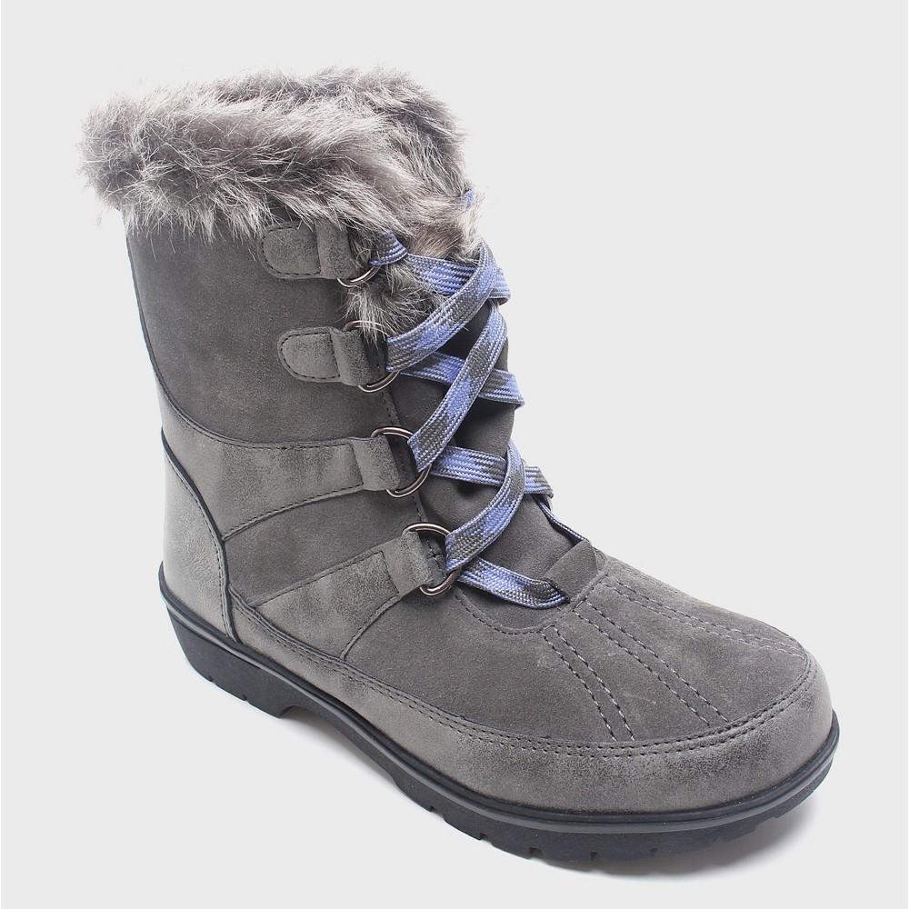 Womens Floria Short Functional Winter Boots Merona, Size: 6, Gray