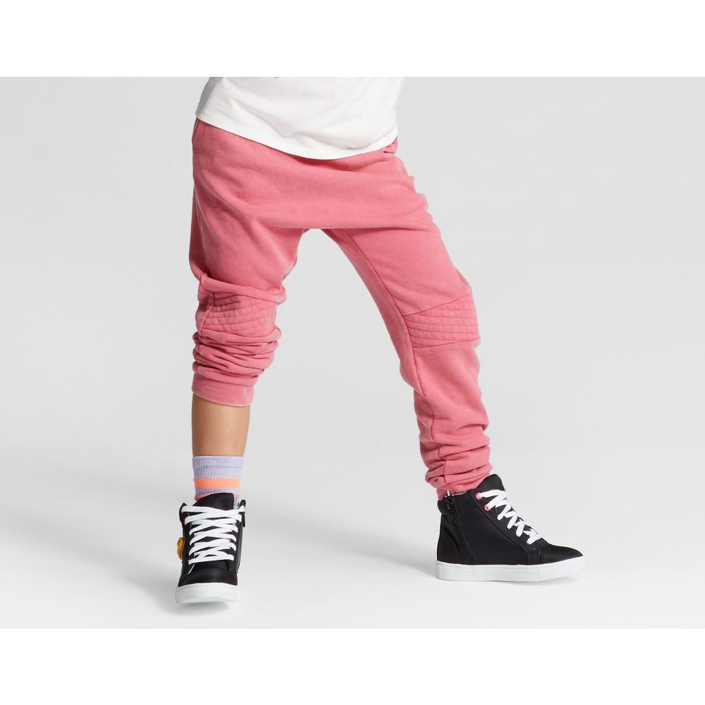 Girls Moto Jogger - Art Class Pink Aura M