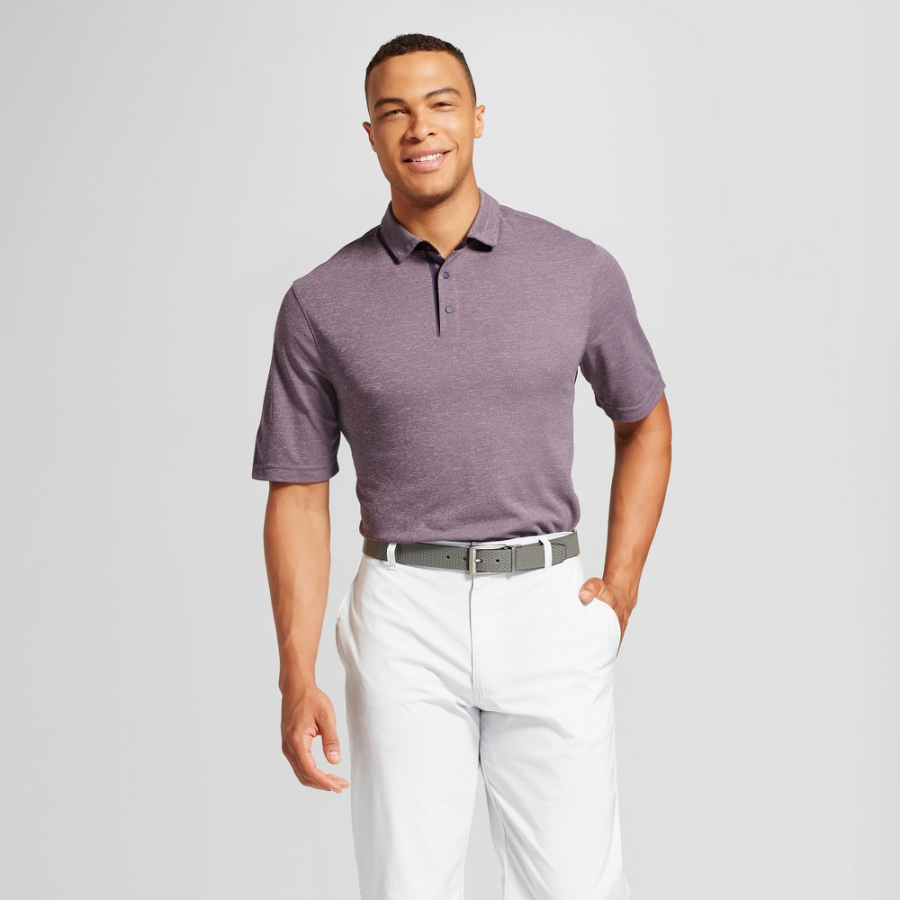 Mens Big & Tall Pique Golf Polo - C9 Champion - Green 5XB, Size: 4XB Tall, Red
