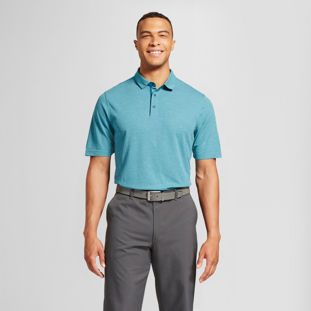 Mens Big & Tall Pique Golf Polo - C9 Champion - Green 3XB, Size: 4XB