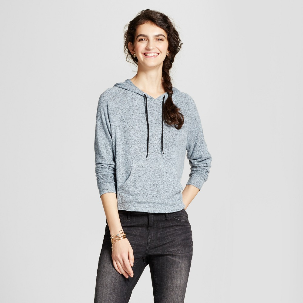Womens Crop Hoodie - Mossimo Supply Co. Blue Xxl
