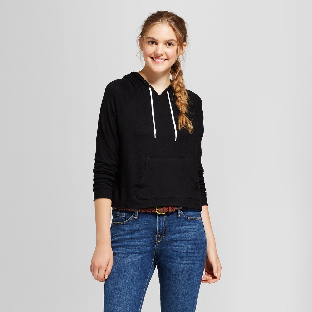 Womens Crop Hoodie - Mossimo Supply Co. Black XS