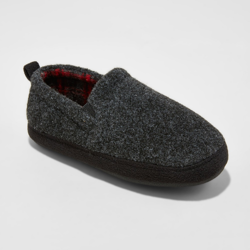 Loafer Slippers Cat & Jack Gray L (4-5), Boys